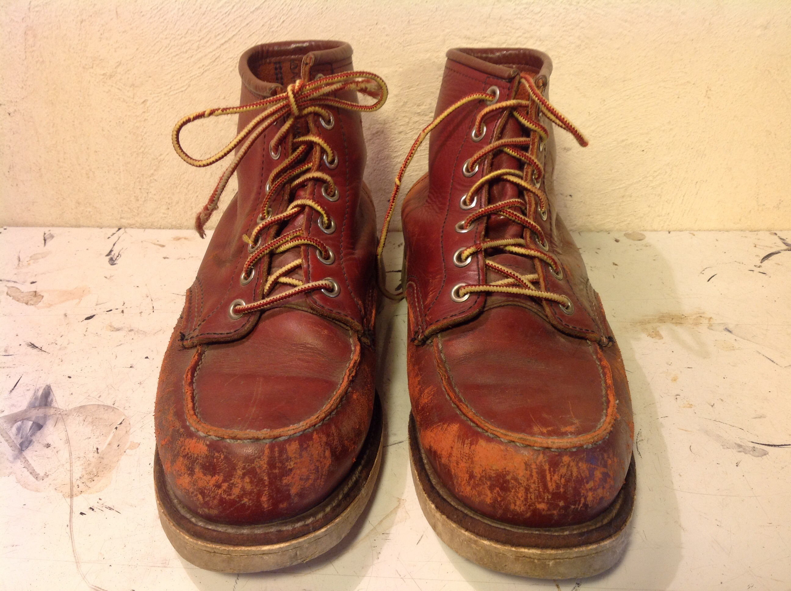 RED WING レッドウイング 8875 ♯4014 ミッドソール交換