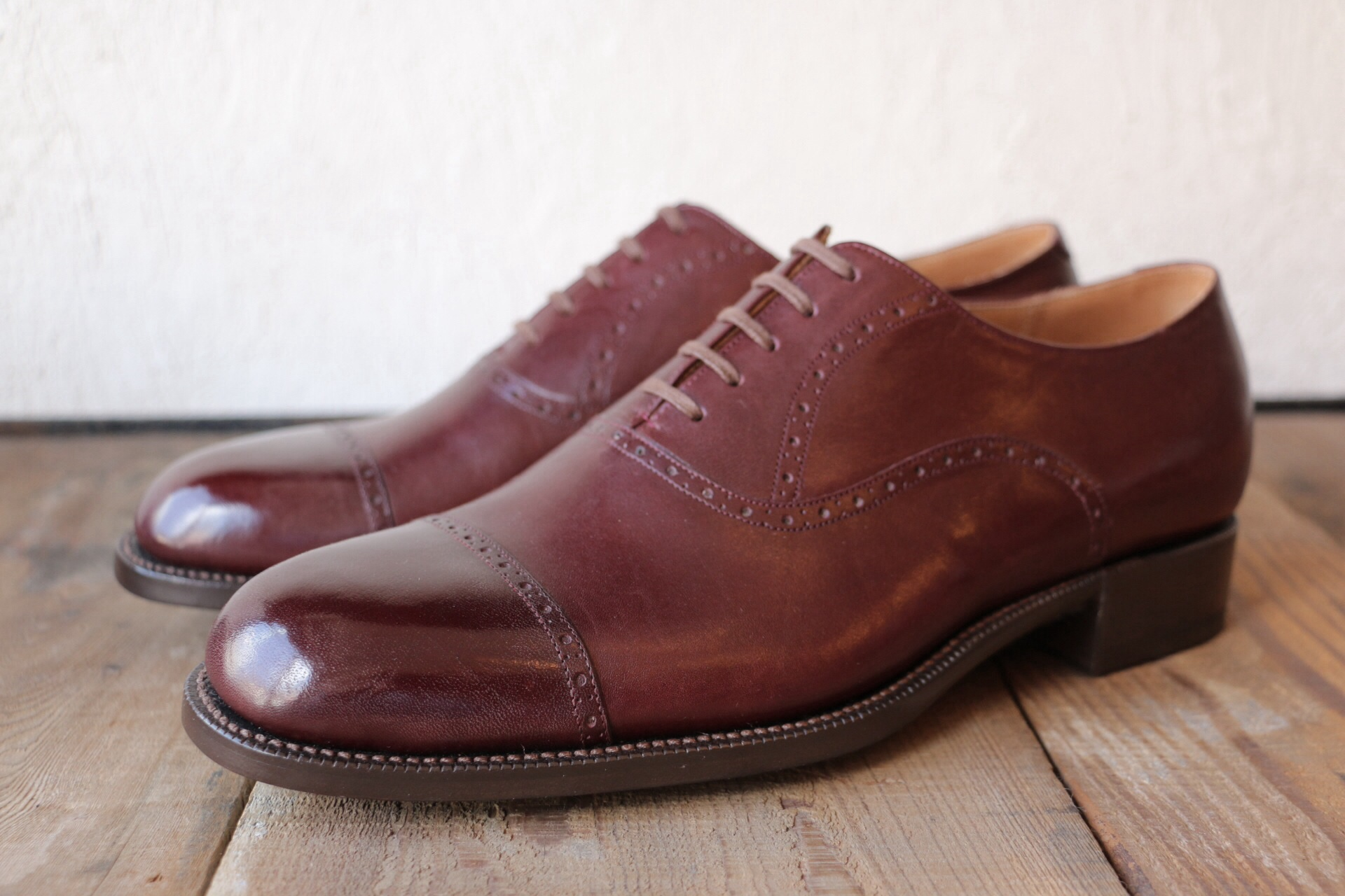 mens square straight tip shoes