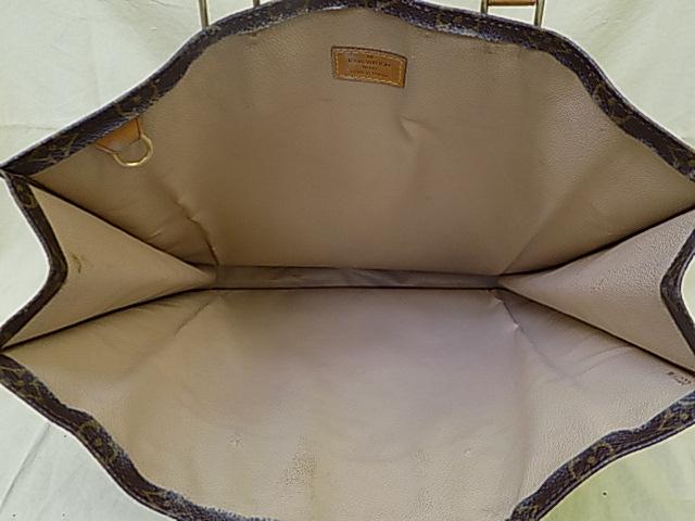 ルイヴィトン モノグラム バッグ 内装交換
